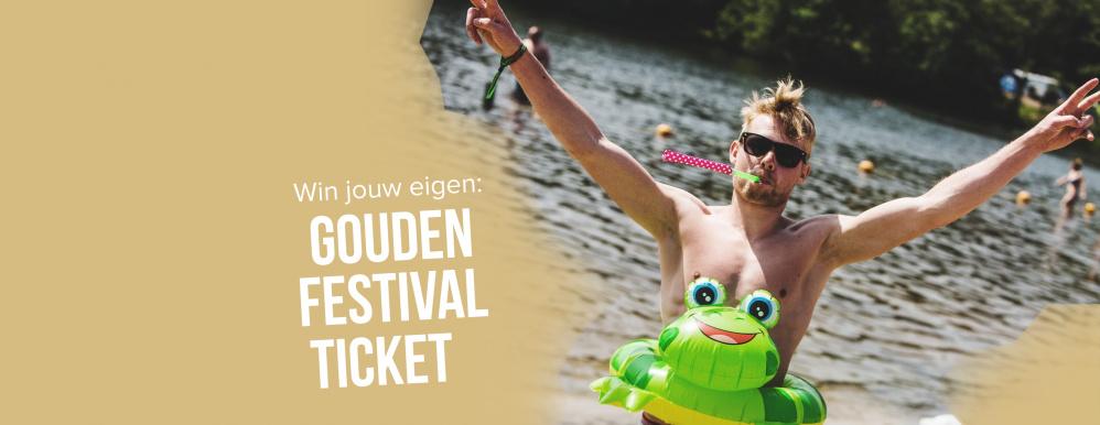 Freshtival doet mee met het Gouden Festival Ticket