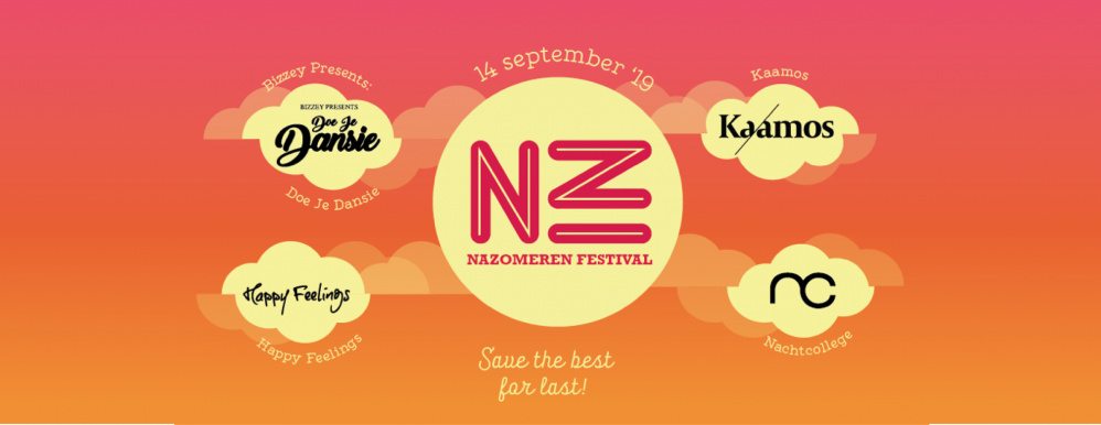 Nazomeren Festival presenteert stagehost 2019