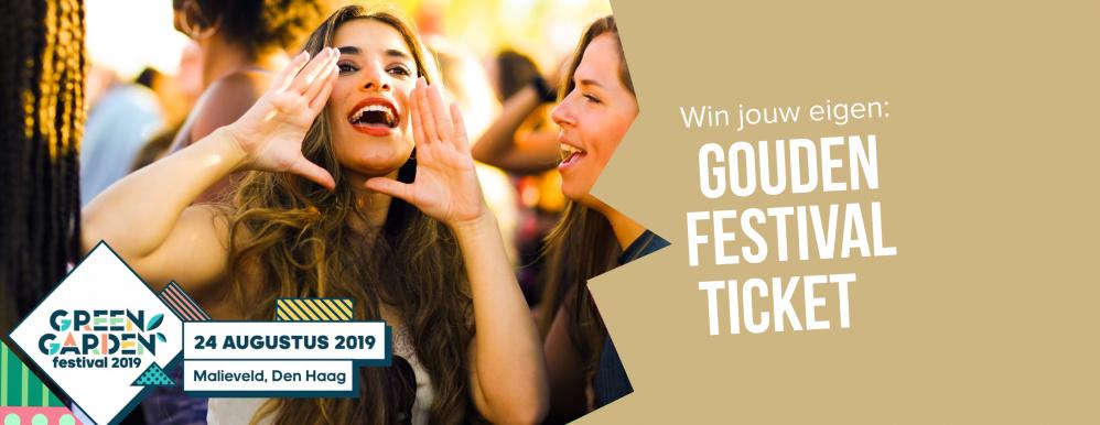 Green Garden doet mee aan het Gouden Festival Ticket