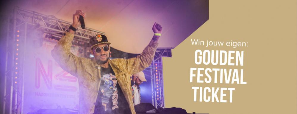 Ook Nazomeren doet mee aan het Gouden Festival Ticket