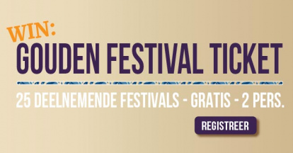 Gouden Festival Ticket 2021 - pre-register