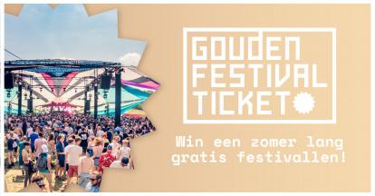 Gouden Festival Ticket 2022 - pre-register